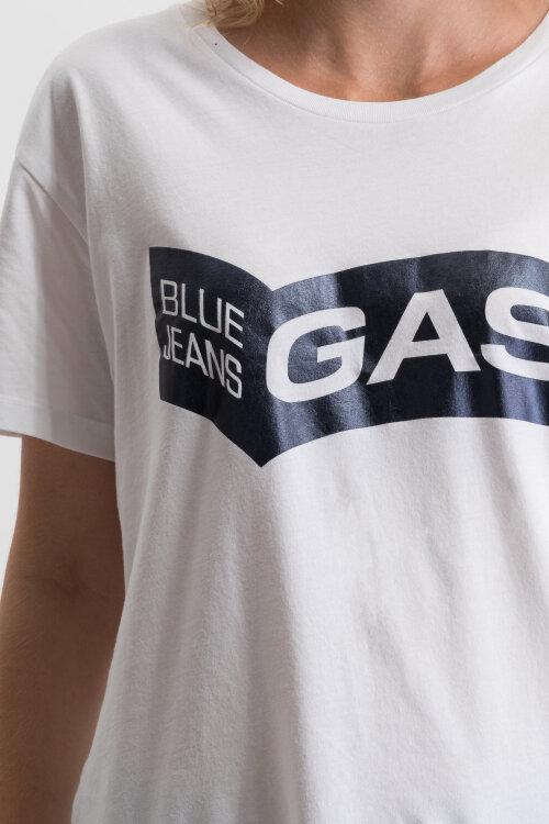 T-Shirt Gas 98453_FRANCYS_0001 biały