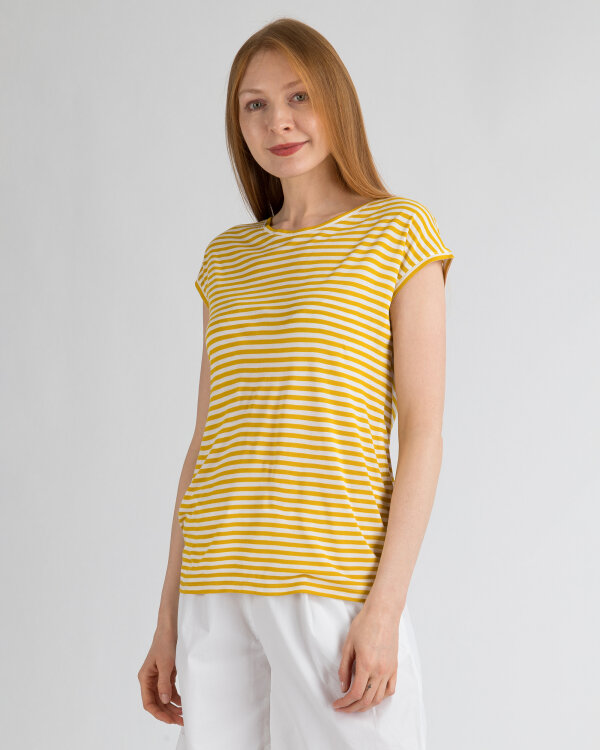 T-Shirt Hallhuber 0-1910-42471_230 żółty