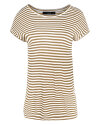 T-Shirt Hallhuber 0-1910-42471_867 brązowy