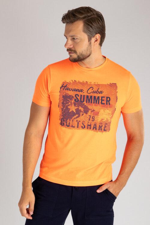 T-Shirt Lerros 2933068_317 pomarańczowy