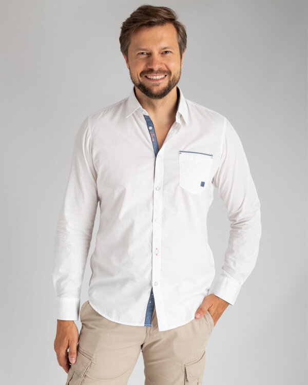 Koszula Lerros 28D1044_103 biały
