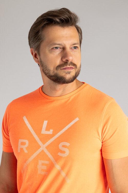 T-Shirt Lerros 28D3022_317 pomarańczowy