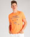 T-Shirt Lerros 2923024_317 pomarańczowy