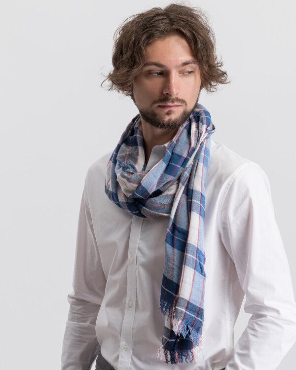 Szal Lerros 58D1003_364 niebieski