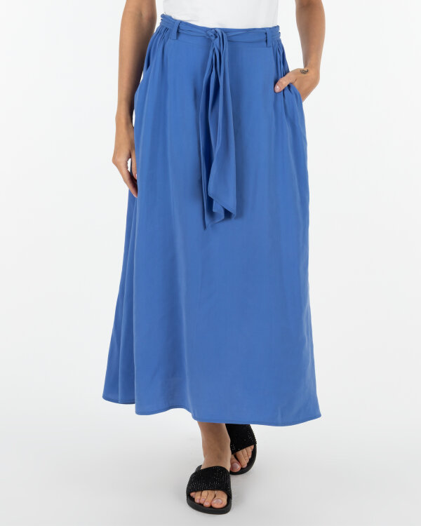 Spódnica Malgrau 2036B_NIEBIESKI niebieski