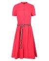 Sukienka Malgrau 2032A_KORAL różowy