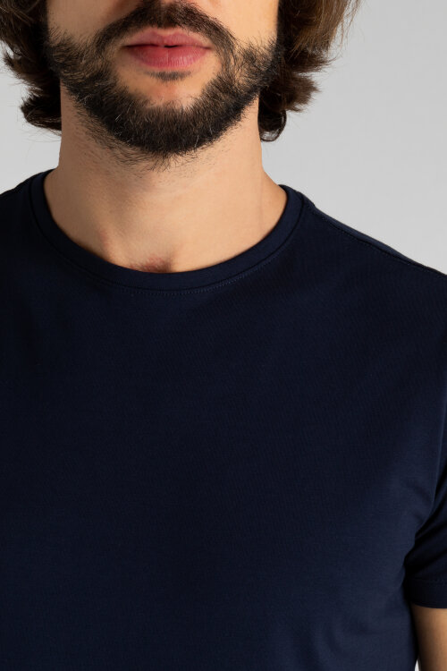 T-Shirt Matinique 30200604_20209 granatowy