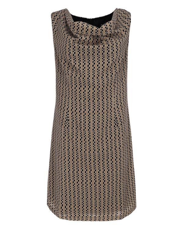 Sukienka Mexx 70555_PRINTED beżowy