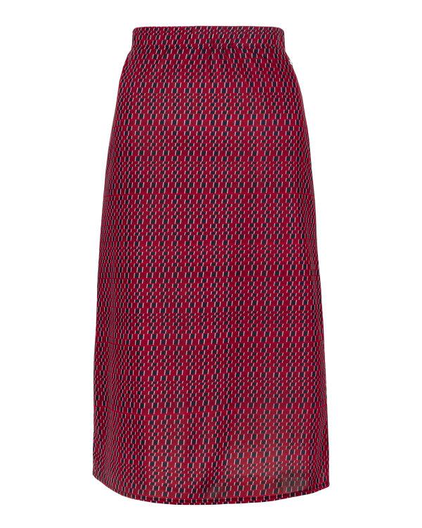 Spódnica Mexx 70762 _PRINTED czerwony