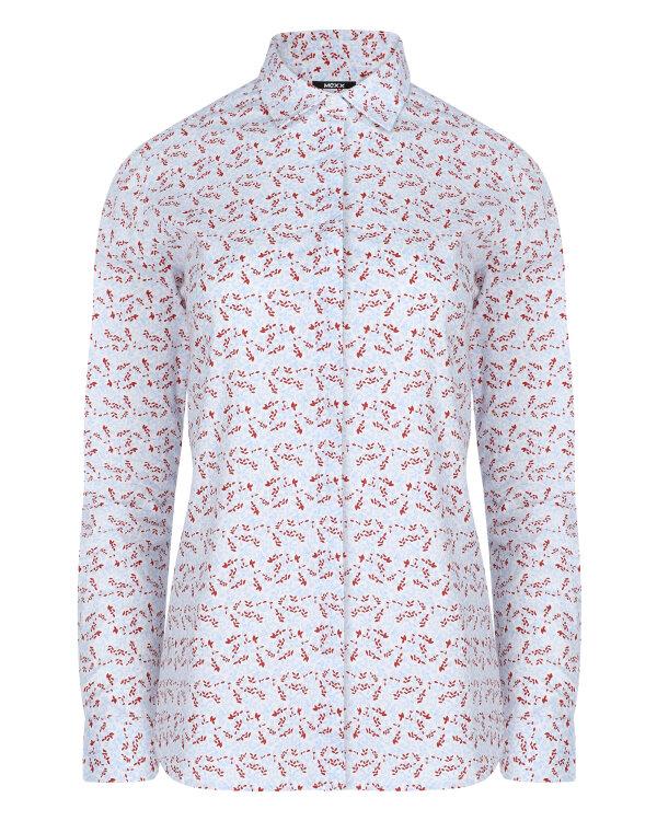 Koszula Mexx 71707_LEAVES PRINT biały