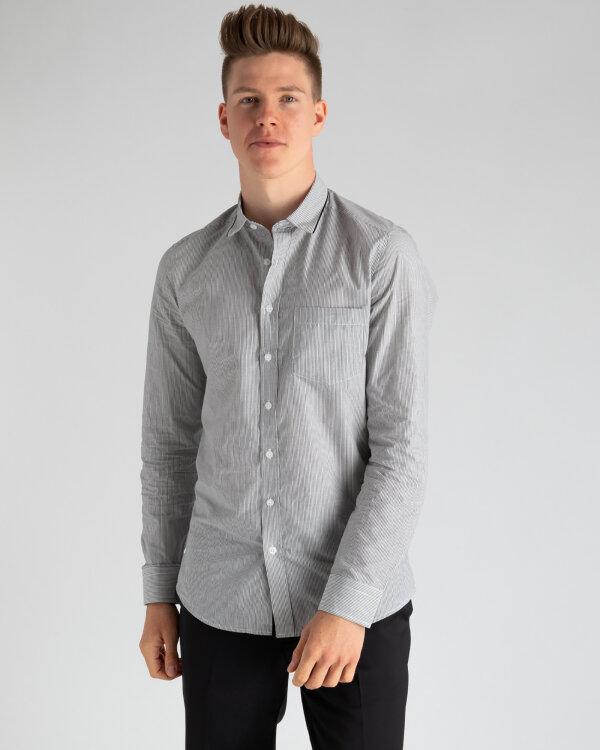 Koszula Mexx 50600_BLACK/WHITE szary