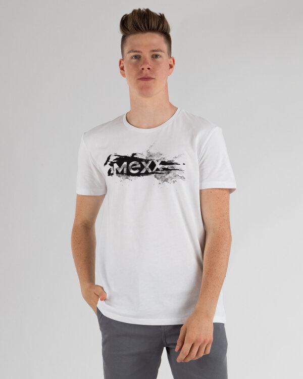 T-Shirt Mexx 50830_BRIGHT WHITE biały