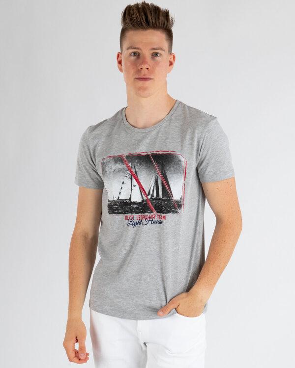 T-Shirt Mexx 50833_GREY MELANGE szary