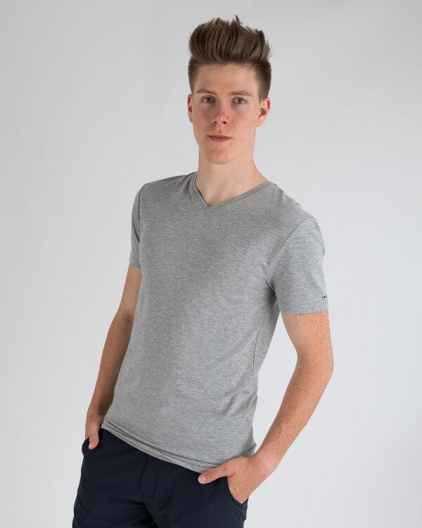 T-Shirt Mexx 10506_GREY MELANGE szary