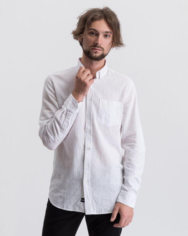 Koszula Mexx 50638_BRIGHT WHITE biały
