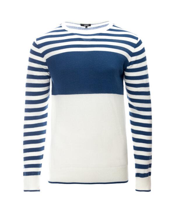Sweter Mexx 50705_ESTATE BLUE/BRIGHT W granatowy