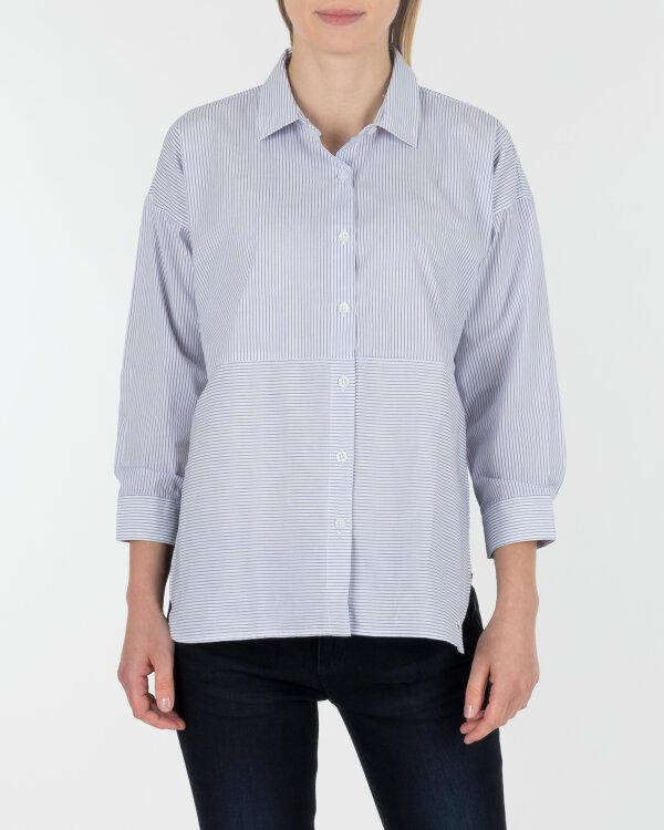 Koszula Mexx 70678_WHITE/BLUE PRINTED niebieski