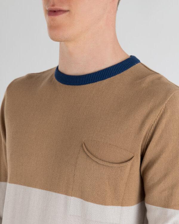 Sweter Mexx 50702_TIGEREYE/QUIET GREY/ brązowy