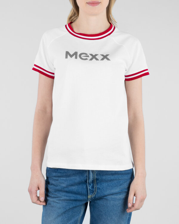 T-Shirt Mexx 71113_BRIGHT WHITE biały
