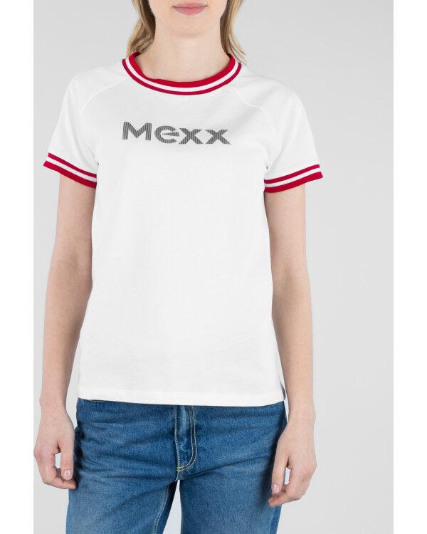 T-SHIRT MEXX 71113_BRIGHT WHITE bialy