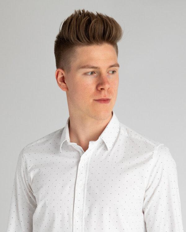 Koszula Mexx 50632_BRIGHT WHITE DOT PRI biały