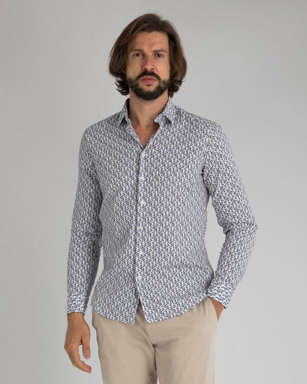 Koszula Mexx 50636_BRIGHT WHITE PRINTED biały