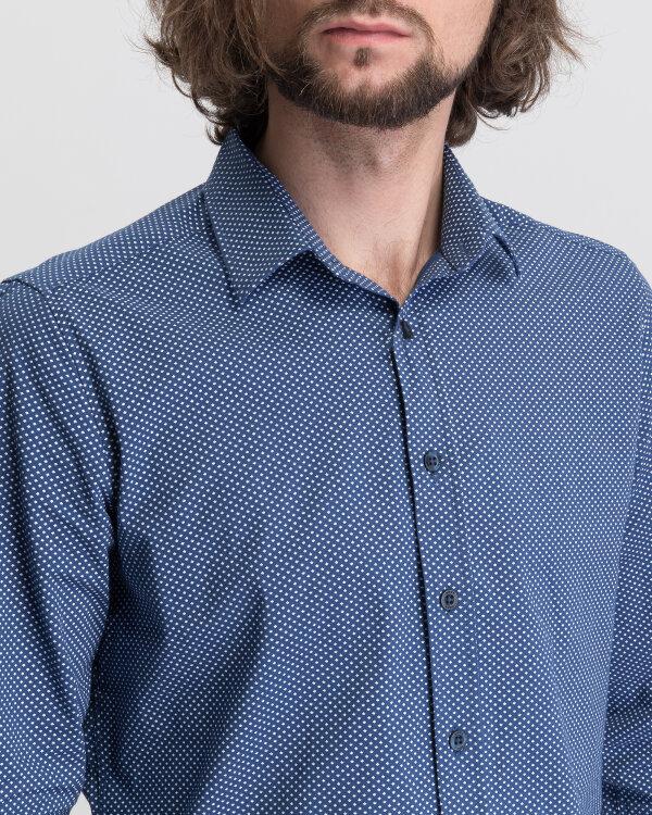 Koszula Mexx 50606_ESTATE BLUE/BRIGHT W granatowy