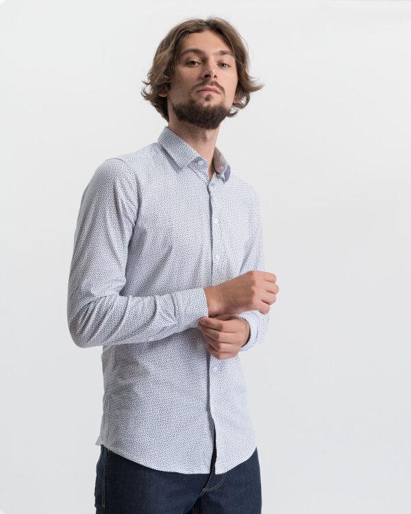 Koszula Mexx 50619_BRIGHT WHITE MICRO P biały