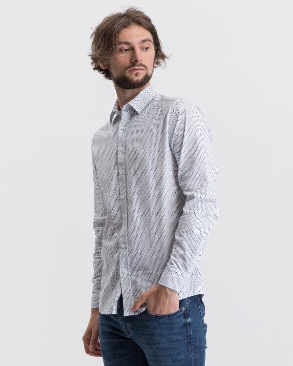 Koszula Mexx 50620_BRIGHT WHITE DOT PRI biały