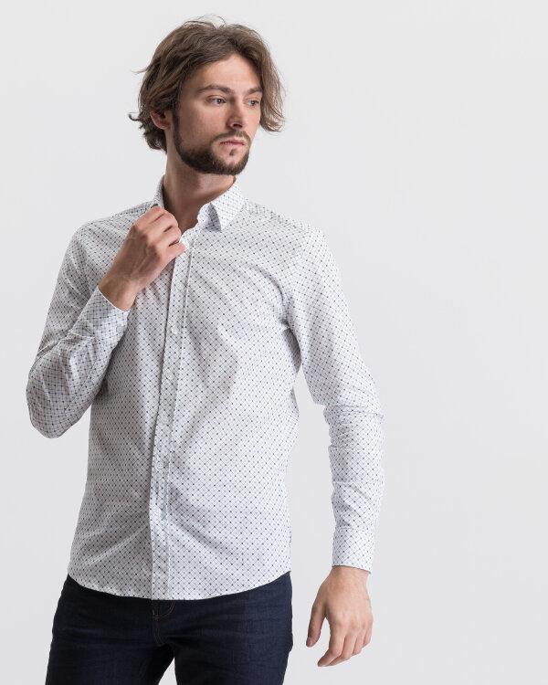 Koszula Mexx 50635_BRIGHT WHITE PRINTED biały