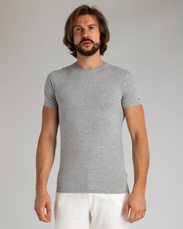 T-Shirt Mexx 10505_GREY MELANGE szary