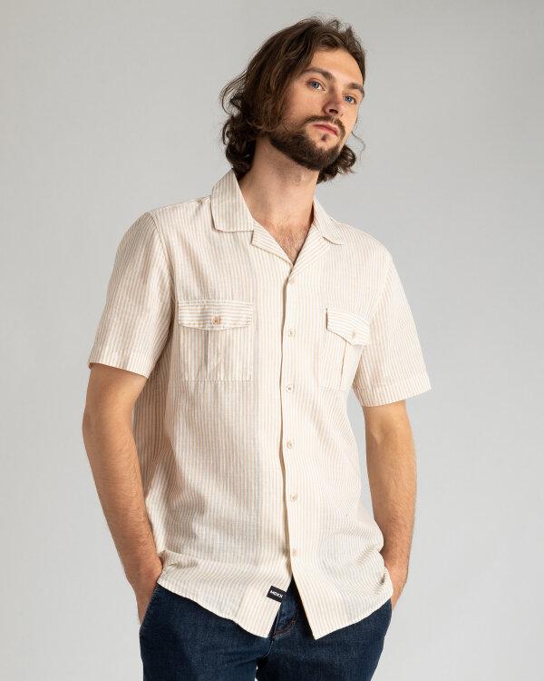 Koszula Mexx 51600_STRIPED beżowy