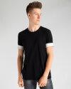 T-Shirt Mexx 51807_JET BLACK czarny