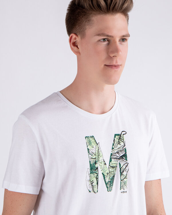 T-Shirt Mexx 51820_BRIGHT WHITE biały