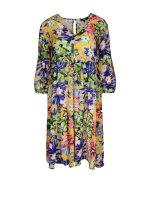Sukienka Mexx 73310_FLORAL PRINTED żółty