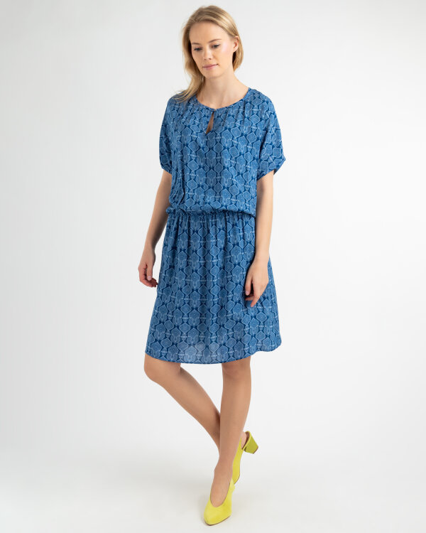 Sukienka Mexx 73311_NAVY PEONY/BRIGHT WH niebieski
