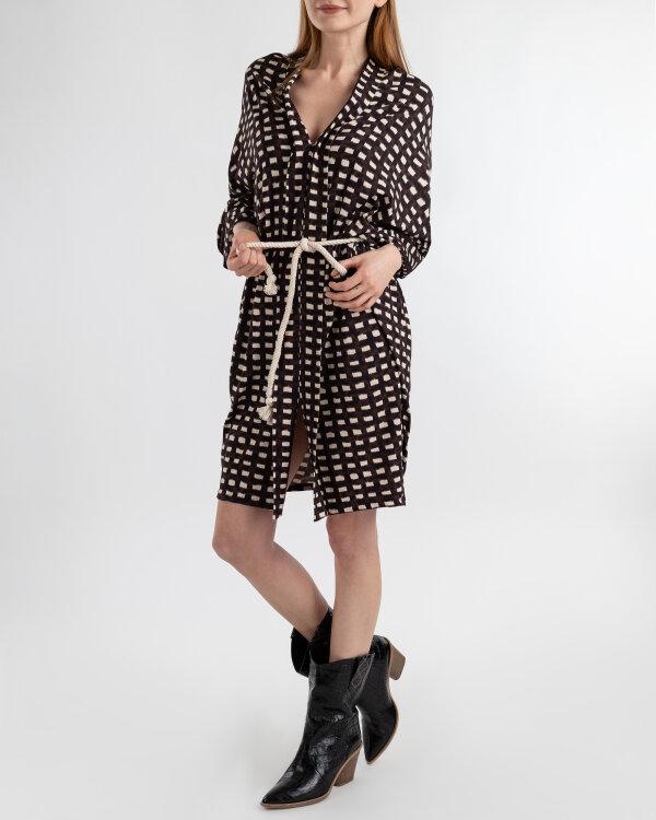 Sukienka Mexx 73320_CHOCOLATE LAB/BUTTER brązowy