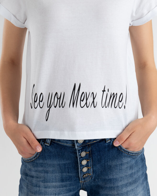 T-Shirt Mexx 73605_BRIGHT WHITE biały