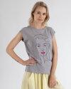 T-Shirt Mexx 73607_QUIET GREY szary