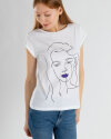 T-Shirt Mexx 73607_BRIGHT WHITE biały