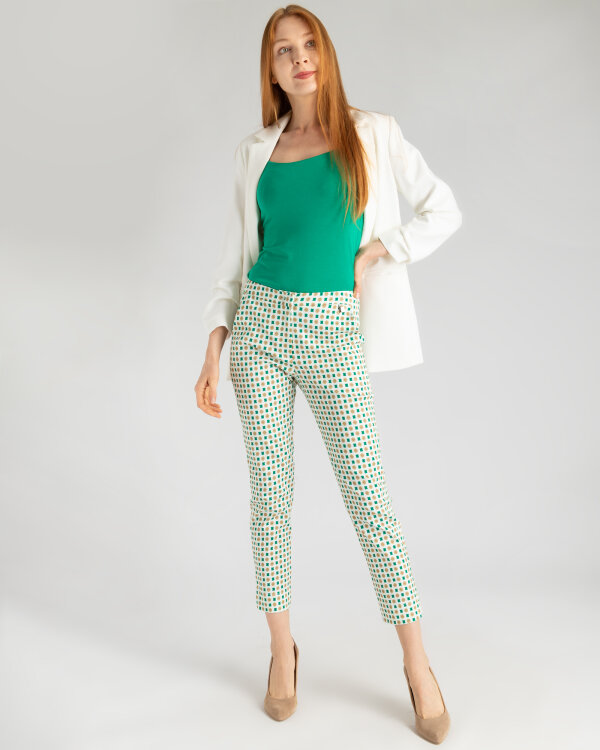 Spodnie Mexx 73807_BRIGHT WHITE/CROISSA kremowy