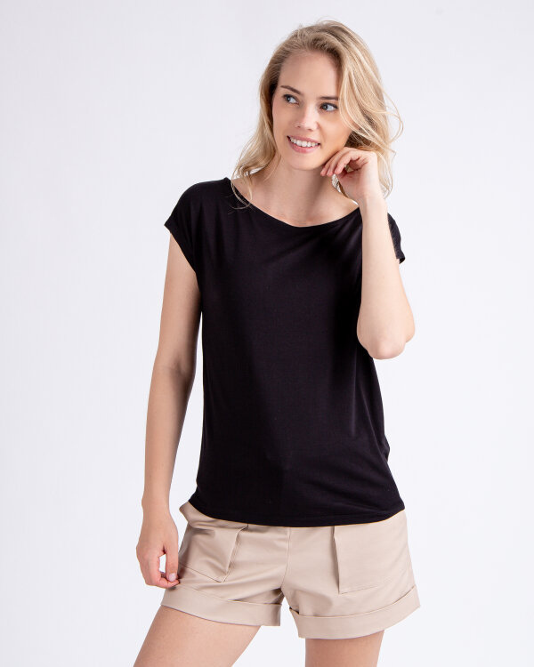 T-Shirt Mexx 71110_JET BLACK czarny