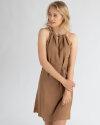 Sukienka Mexx 73305_TOASTED COCONUT brązowy