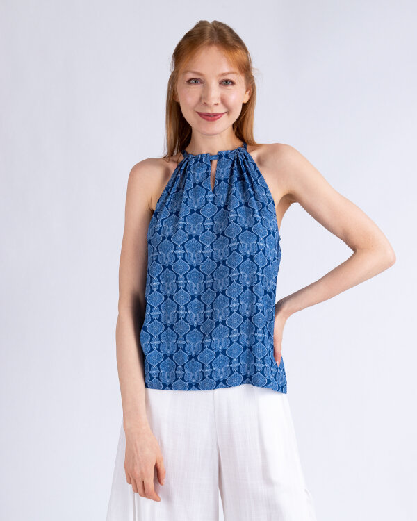 Bluzka Mexx 73508_NAVY PEONY/BRIGHT niebieski