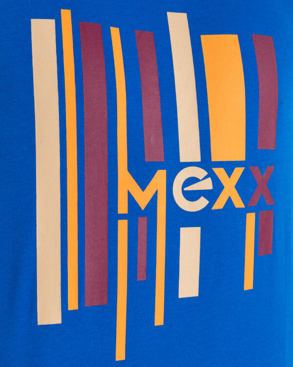 T-Shirt Mexx 51819_TURKISH SEA niebieski
