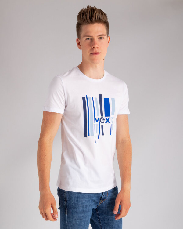 T-Shirt Mexx 51819_BRIGHT WHITE biały
