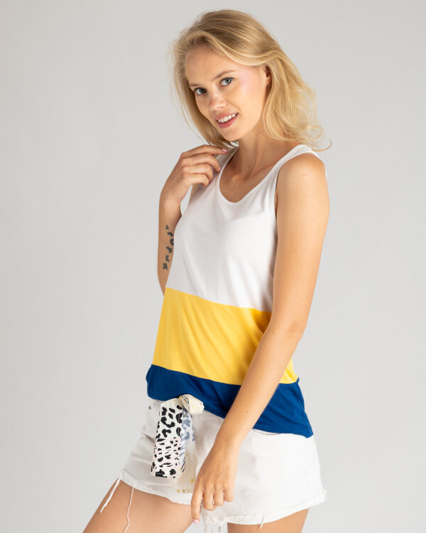 Top Mexx 73518_BRIGHT WHITE/PALE wielobarwny