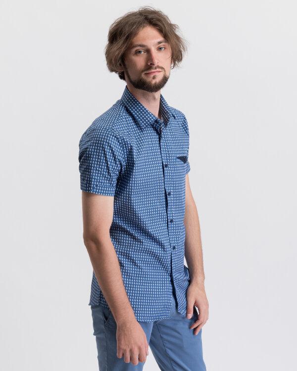 Koszula Mexx 51603_MICRO PRINTED niebieski
