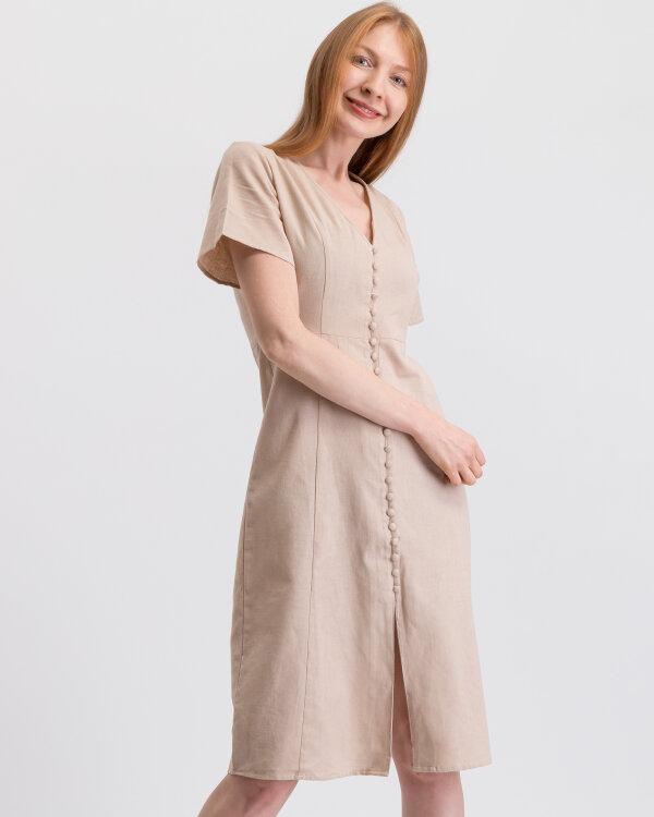 Sukienka Na-Kd 1014-000393_LIGHT BEIGE beżowy
