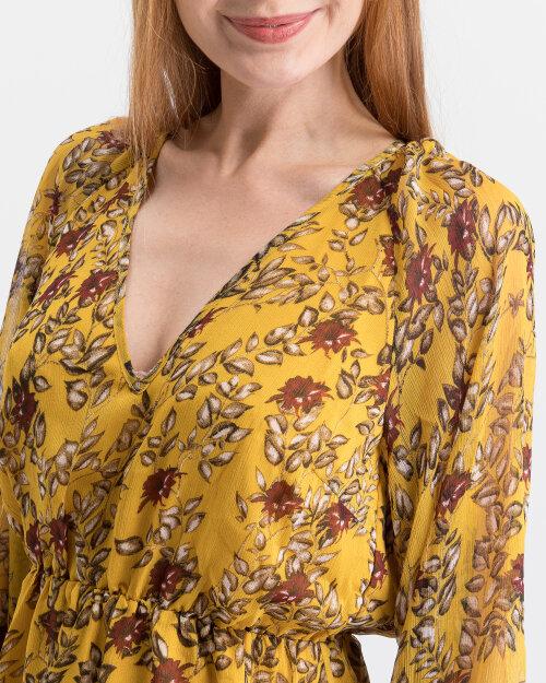Sukienka Na-Kd 1014-000559_YELLOW żółty